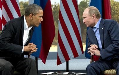 Обама и Путин поговорили об Украине и Сирии