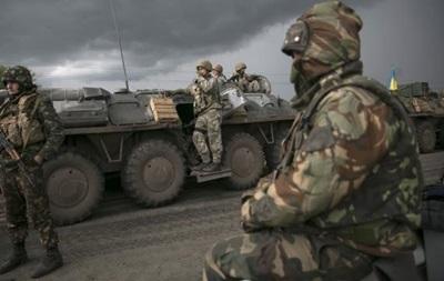 За сутки в зоне АТО ранены семеро военных