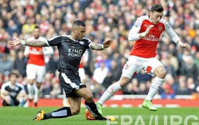 Арсенал вырывает победу в матче с Лестером