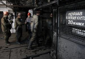 В Луганской области горит шахта
