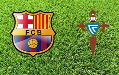Барселона - Сельта 6:1 Онлайн трансляция матча чемпионата Испании