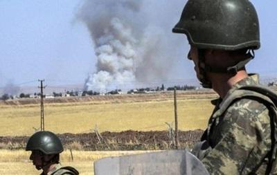 Турция подтвердила артиллерийский обстрел курдов в Сирии