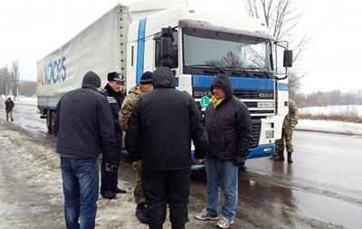 Киев отрицает блокаду украинских фур в России