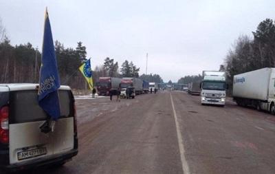 Украина начала пропуск грузовиков РФ в Беларусь