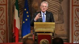 Монти хочет оставаться премьером Италии до 2013
