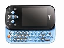 Телефон LG KS360 с выдвижной QWERTY-клавиатурой предназначен для общения и чатов в реальном времени