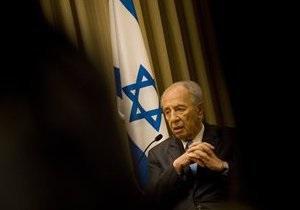 Израиль отстрочит атаку на Иран из-за выборов в США - Шимон Перес