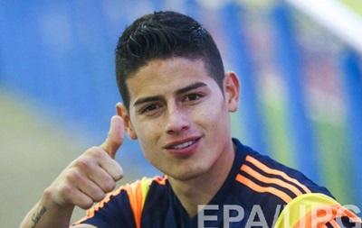 Скандальный сайт опубликовал условия контракта Хамеса Родригеса