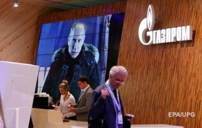 Газпром требует плату за  осевший  газ
