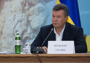 Янукович освободил Тимошенко от обязанностей главы двух международных комиссий