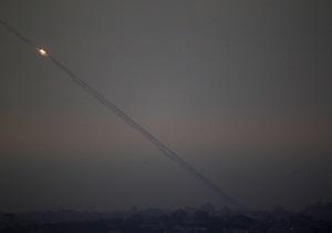 Палестинские боевики впервые со дня перемирия выпустили ракету по территории Израиля
