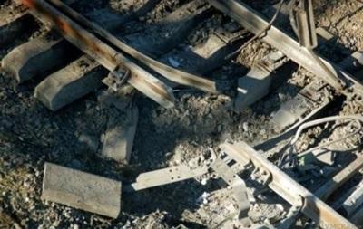 В ДНР заявили о подрыве поезда в Ясиноватой