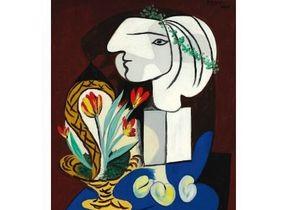 Натюрморт с тюльпанам Пикассо ушел с молотка за $41,5 млн