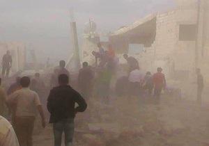 Авиаудар по сирийскому городу унес жизни более 40 человек