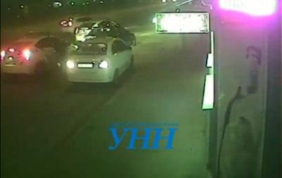 Появилось еще одно видео погони за BMW в Киеве