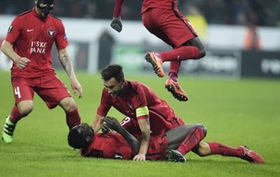 Лига Европы: Победы Боруссии и Севильи, сенсационное поражение МЮ