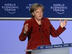 В Давосе Ангела Меркель предложила создать экономический аналог Совбеза ООН