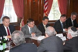 Глава МИД Украины встретился с представителями еврейской общины США