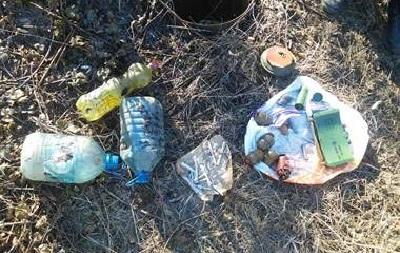 На Донбассе нашли два тайника с боеприпасами