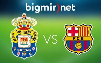 Лас-Пальмас - Барселона 1:2 Онлайн трансляция чемпионата Испании