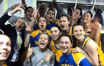 Женская сборная Украины обыграла чемпионок Европы из Сербии