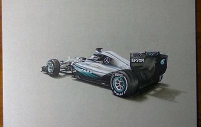 Команда Mercedes необычно представила свою новую машину для Формулы-1