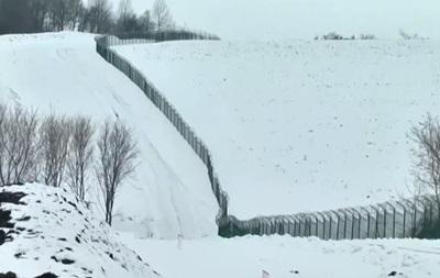 СМИ показали Стену на границе с Россией