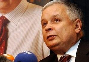 Тимошенко выразила соболезнования в связи с гибелью Леха Качиньского