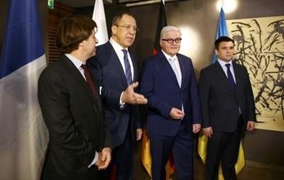 Штайнмайер: Встреча МИД четверки будет ключевой