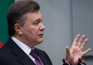Янукович готов подписать закон о выборах в Раду