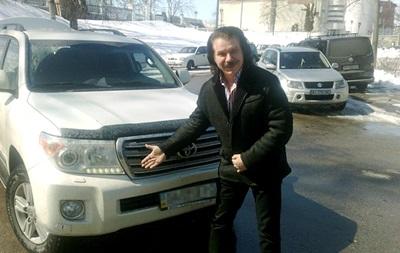 В Киеве обворовали авто Павла Зиброва