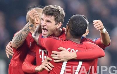 Бавария сыграла вничью с Ювентусом в первом матче плей-офф Лиги чемпионов