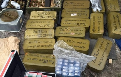 На Киевщине обнаружен крупный тайник с боеприпасами - СБУ