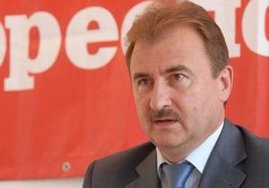ЗН: В ПР опасаются, что победа Попова на выборах мэра Киева негативно повлияет на имидж партии