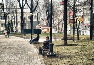 В Киеве реконструируют восемь парков и скверов