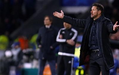 Тренер Атлетико: Мальчики выдали брутальный матч