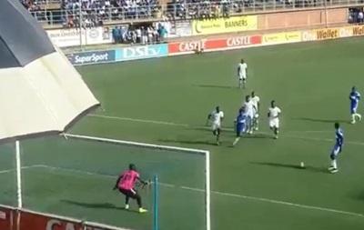 Зимбабвийские футболисты попытались повторить пенальти Барселоны
