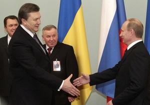 Путин поздравил Януковича: Вам по плечу решение непростых задач