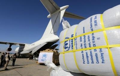 Попытка сбросить помощь на город в Сирии закончилась неудачно
