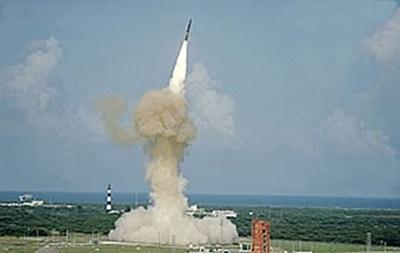 США проведут испытания баллистической ракеты