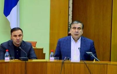 Саакашвили выгнал с совещания СБУшника