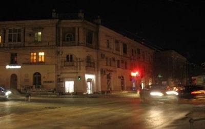 В Севастополе снова выключат уличное освещение