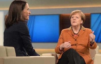 """Меркель: У меня нет """"плана Б"""" для решения кризиса с беженцами"""
