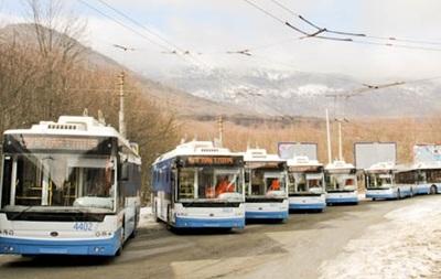 У Сімферополі через економію світла зупинили тролейбуси