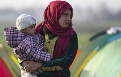 На границе Греции с Македонией застряли тысячи мигрантов