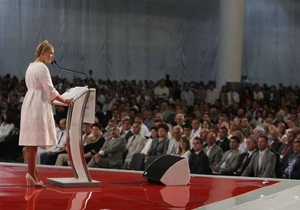 Тимошенко: Ни один случайный человек в предвыборные списки БЮТ больше не попадет