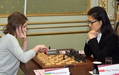 Шахматы: Музычук и Ифань сыграли вничью в первой партии чемпионского матча