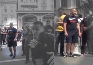 В интернете появилось видео, подтверждающее, что нападавшие на журналистов участвовали в митинге ПР