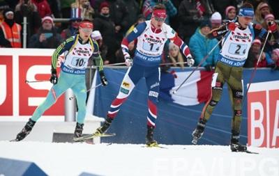 Украина заняла 4 место в смешанной эстафете на ЧМ по биатлону