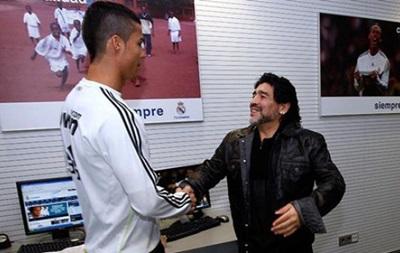 Марадона мечтает стать главным тренером Реала